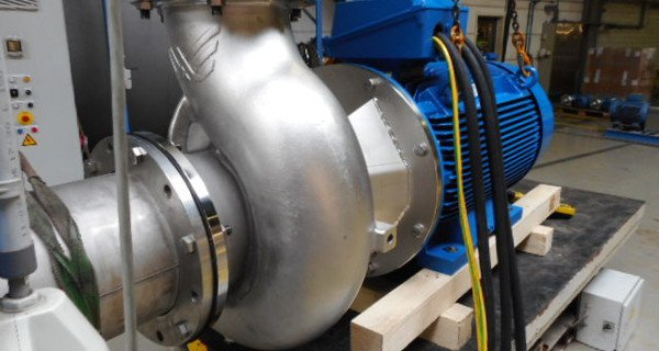 Packo produces centrifugal pump with a force of 2 million cows